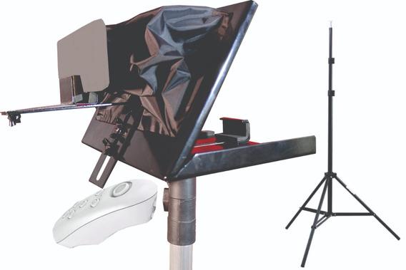 Teleprompter 12,9 Tripe/controle Remoto/adaptador D Celular
