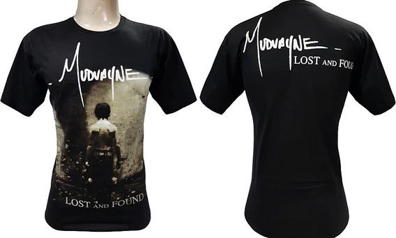 Camiseta Mudvayne - Lost And Found - Tamanho P (blh)