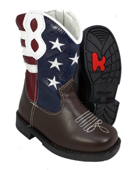 Bota Country Infantil Texana Menino Menina Eua Kifofo 8150