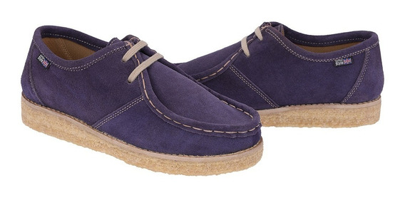 Sapato Estilo London Canadian Azul Bb Cacareco Anos 80