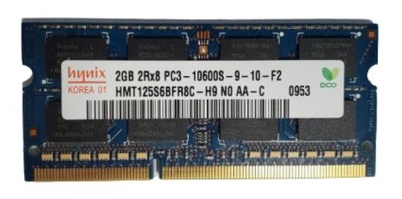 Memoria Ram Hynix 2gb Ddr3 Pc3 10600s 1333 Hmt125s6bfr8c-h9