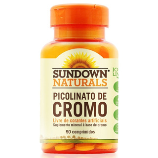 Picolinato De Cromo Sundown 35mcg C/ 90 Comprimidos