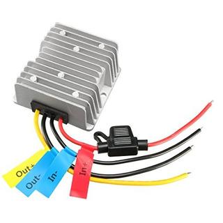 Impermeable Transformador Conversor Regulador Y Carrito De G