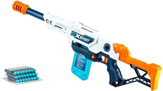 X-shot Clip Max Attack Escopeta Lanza Dardos Zuru