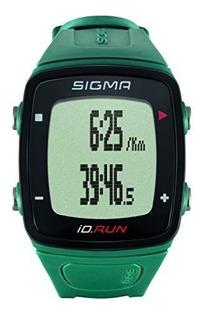 Sigma Sport Id.run Reloj Gps Para Correr, Verde Azulado