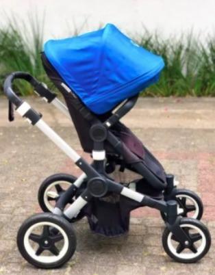 Carrinho De Bebê Bugaboo Buffalo, Com Acessórios