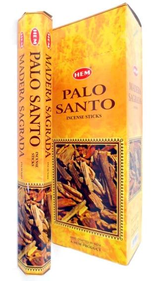 Caja De Incienso De Palo Santo (madera Sagrada) 120 Varitas