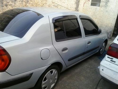 Renault Clio Sedan Expression1.6 Completo Prata 2003/revisad