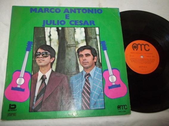 Lp Vinil - Marco Antonio E Julio Cesar - Entardecer Da Vida