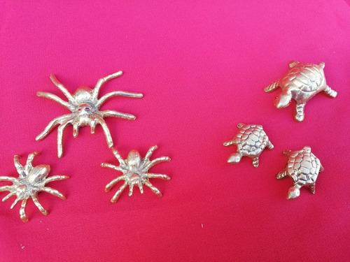 Familia Miniatura Bronce Nueva