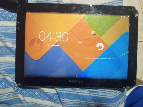Tablet Positivo T1060 10.1 Touch Trincado Ligando Normal