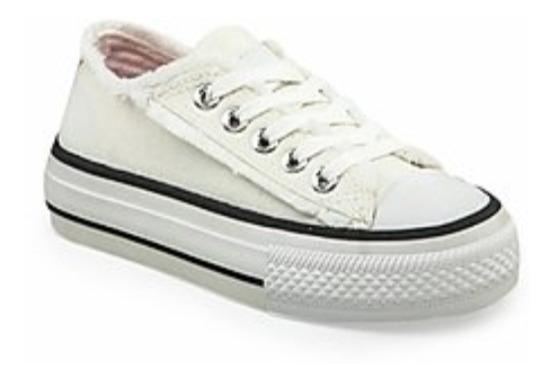 Zapatillas Addnice Lona Blanca