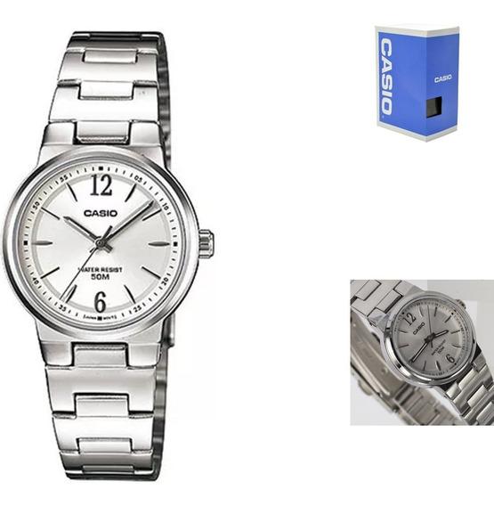Reloj Casio Ltp1372 7a Mujer Acero Inoxidable Wr50