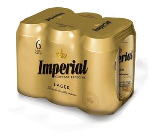 Cerveza Imperial Lager 473 Ml 6 Unidades - Perez Tienda -