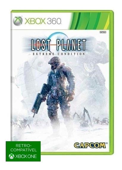 Lost Planet Extreme Condition - Midia Fisica Original E Lacrado - ( Retrocompativel Com Xbox One ) - Xbox 360
