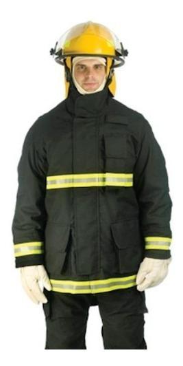Blusão Vestimenta Casaco Combate Incêndio Bombeiro Hercules
