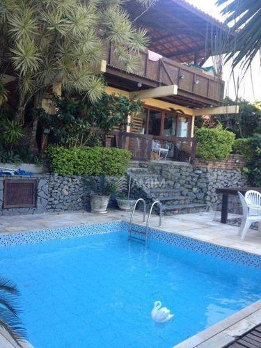 Imagem 1 de 20 de Casa Com 4 Dormitórios À Venda, 260 M² Por R$ 1.100.000,00 - Itaipu - Niterói/rj - Ca0207