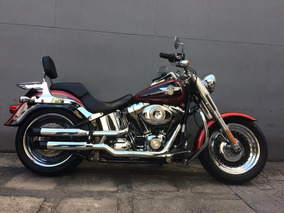 Harley-davidson Fat Boy 2013 Vermelha