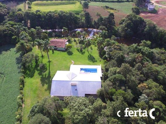 Chacara Com Casa - Campo Redondo - Ref: 59 - V-59