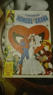 Hombre Araña. Spiderman. Comics «la Boda» 1989. Colección.