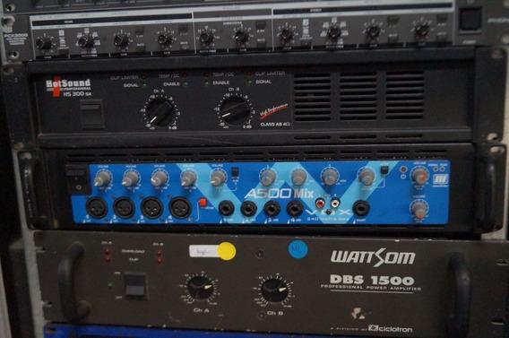 Amplificador Machine Vox A500 240 Watts Rms Por Canal