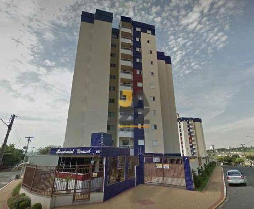 Imagem 1 de 8 de Lindo Apartamento Com 3 Dormitórios À Venda, 77 M² Por R$ 330.000 - Parque Fabrício - Nova Odessa/sp - Ap6141