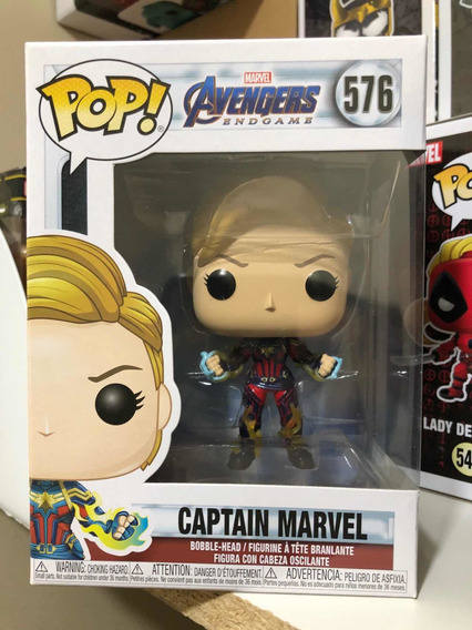 Funko Pop Marvel Endgame Captain Marvel