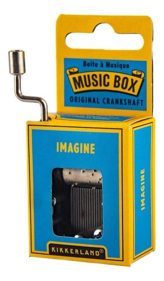 Caja Musical Melodia Imagine Kikkerland