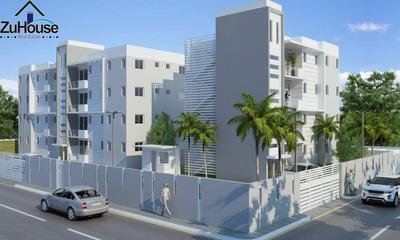 Apartamento 1er Nivel Con Terraza En Gurabo Wpa83