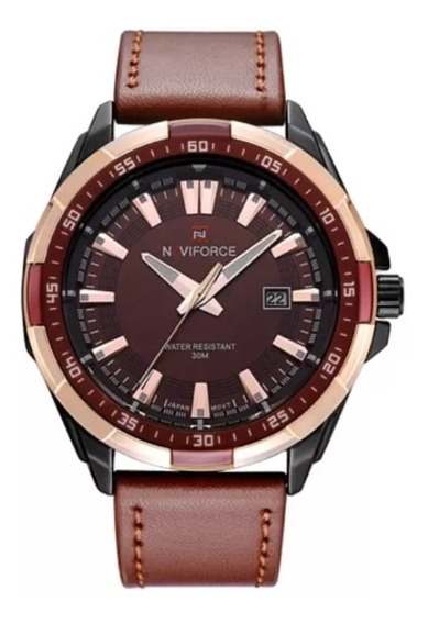 Relógio Naviforce Nf9056m Aprova De Água