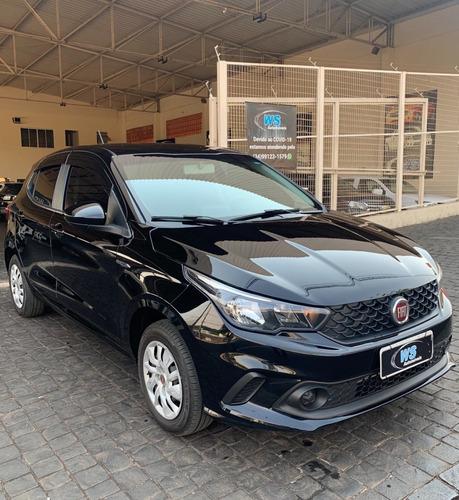 Imagem 1 de 10 de Fiat Argo Drive 1.3 Preto 2019