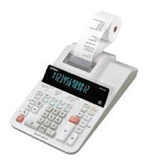 Calculadora Cassio Visor Bobina De Mesa Dr-210r-we Bivolt A