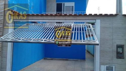Imagem 1 de 14 de Sobrado Com 3 Dormitórios À Venda, 110 M² Por R$ 320.000,00 - Cidade Edson - Suzano/sp - So0174