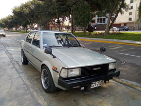 Toyota Corolla Año 82 Motor 4k