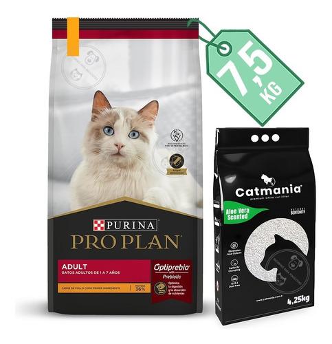 Imagen 1 de 3 de Alimento Gato Proplan Cat Adult 7,5 Kg + Regalo