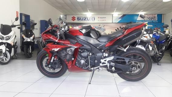 Yamaha Yzf R1 2011 Vermelha Toda Original