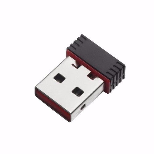 Adapter Network 150mbps 150m Mini Usb Wifi Wireless Lan Mac
