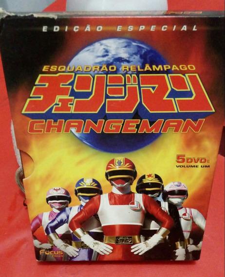 Box O 5 Dvds Volume 1 Changeman