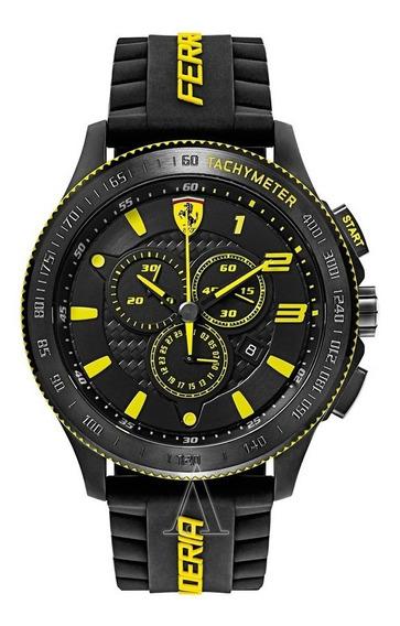 Relógio Masculino Ferrari Modelo 0830139 - Novo E Original