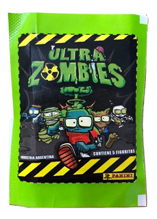 Figuritas Ultra Zombies X 25 Sobres - Fyj