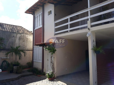 Casa Com 02 Dormitórios Para Locação Fixa, 89 M² Por R$ 1.200,00/mês - Bairro Palmeiras - Cabo Frio/rj - Ca1070