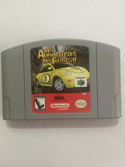 As Aventuras Do Fusca Nintendo 64 Original