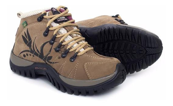 Bota Coturno Adventure Feminino Tchwm Shoes 10.000