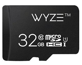 Wyze Labs Tarjeta De Almacenamiento Ampliable 32 Gb Microsdh