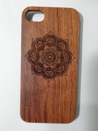 Carcasas De Madera Para iPhone 6 7.