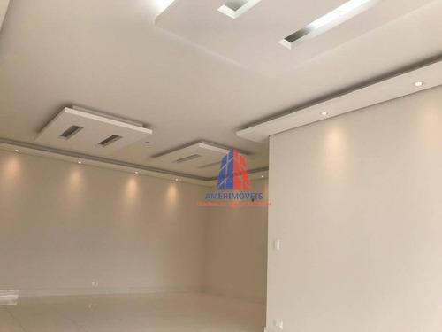 Imagem 1 de 15 de Apartamento Com 3 Dormitórios À Venda, 146 M² Por R$ 850.000,00 - Jardim Colina - Americana/sp - Ap0211