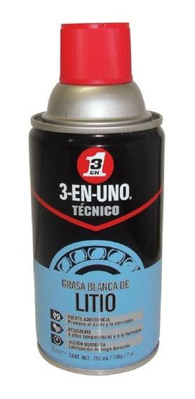 Grasa Blanca De Litio 282 Ml 3 En 1 Técnico