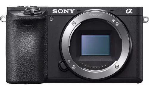 Câmera Sony Mirrorless A6500 Corpo 4k Wifi Nota Fiscal