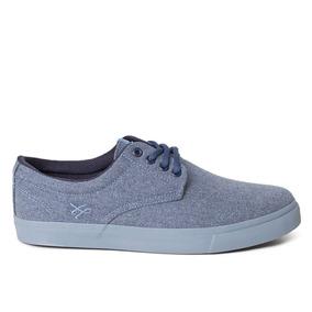 Tênis Ous Tenente Ecolab Oe Jeans Azul Original