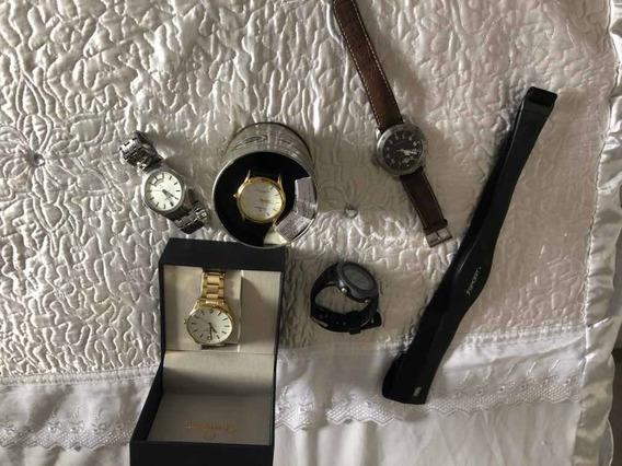 Relógios De Várias Marcas E Modelos Por Um Preço Único!